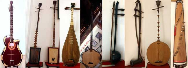 Nhạc cụ cổ nhạc đờn ca tài tử