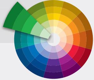 lý thuyết màu sắc riêng độc sắc