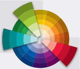 lý thuyết màu sắc màu xen kẻ bổ sung